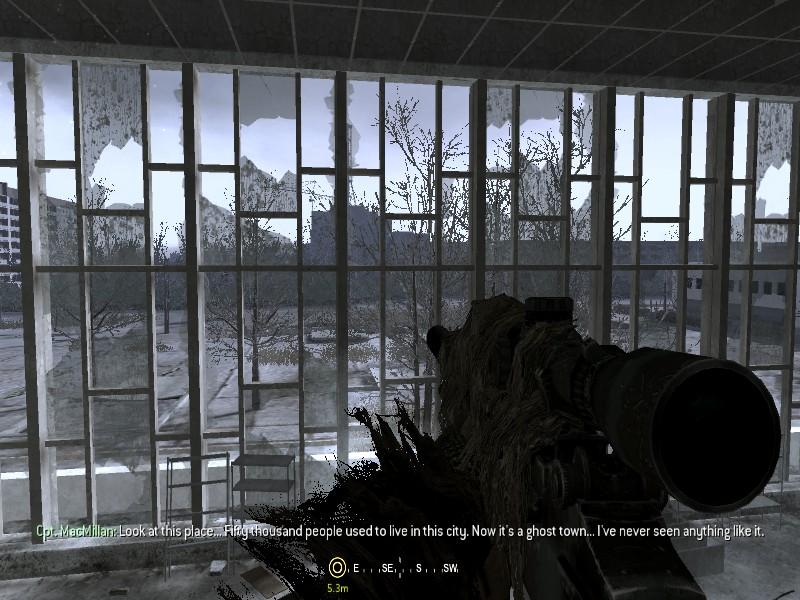 Pripyat sniper mission