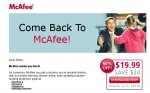 Come Back to McAfee!