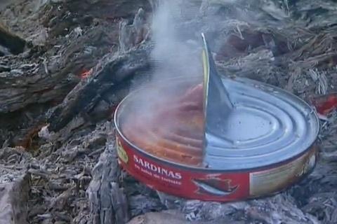 Sardines in tomato-sauce