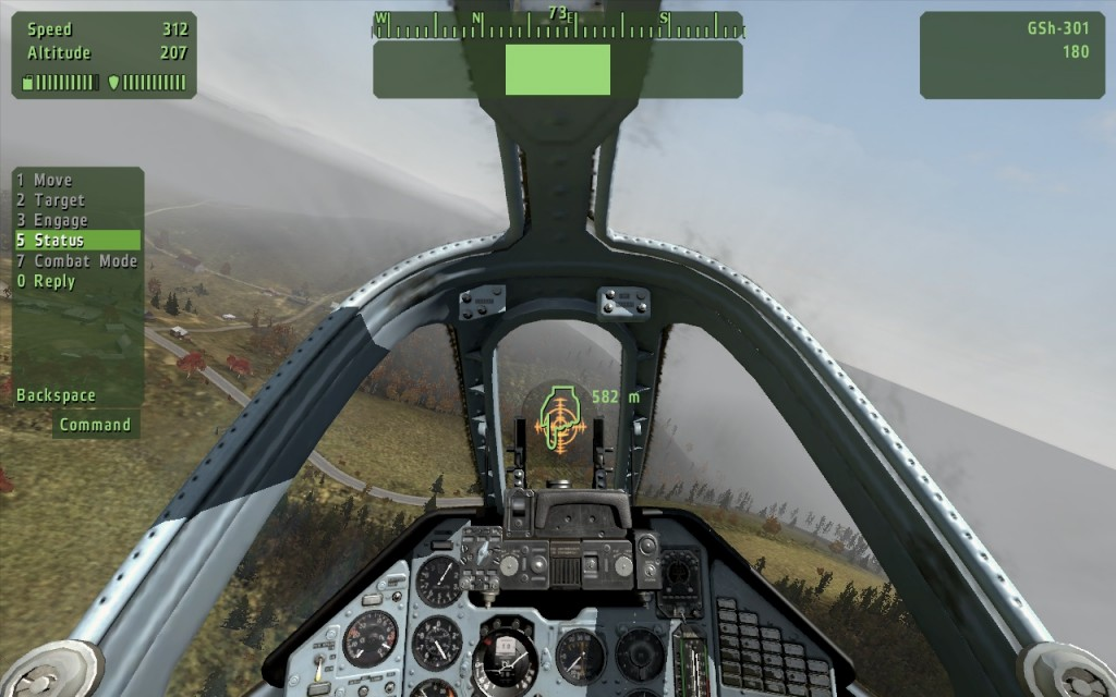A flight path