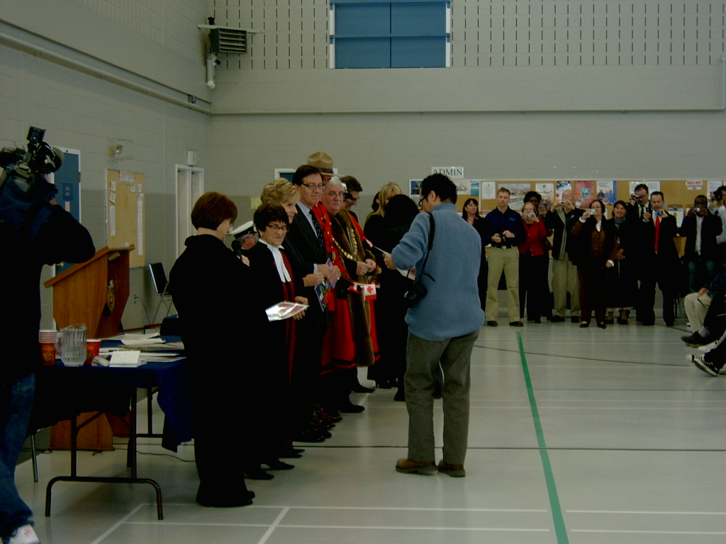 Citizenship Ceremony Saint John 2010