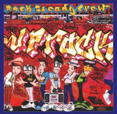 Uprock record sleeve