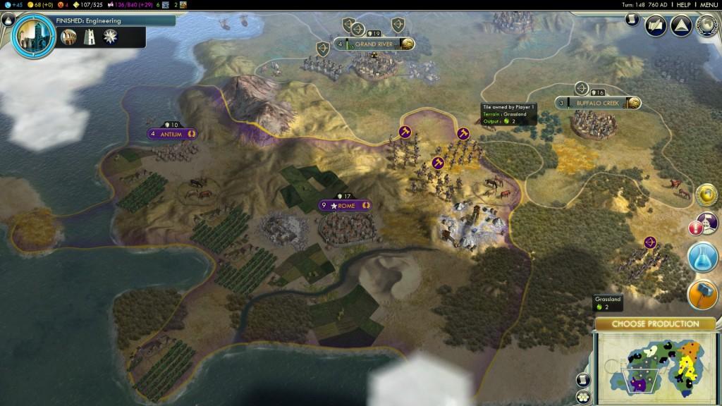 Hexa map
