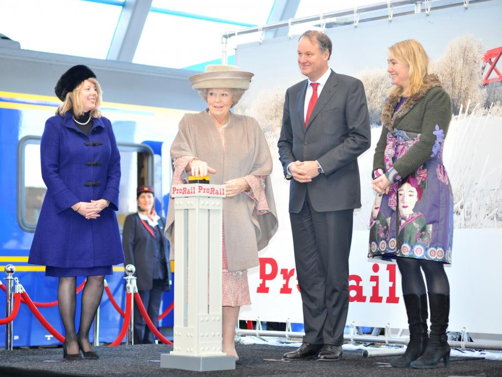 Festivities and official opening of the 'Hanzelijn'