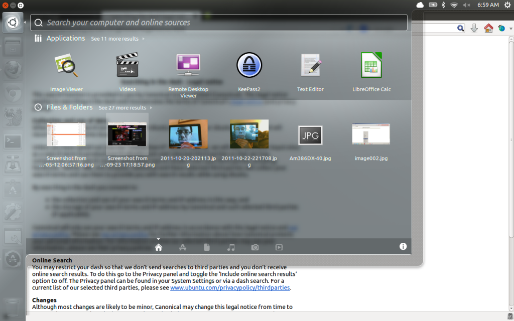 The new launcher